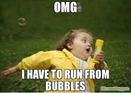 Bubbles Meme - omg i have to run from bubbles meme chubby bubbles girl 58030