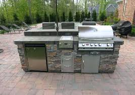 modular outdoor kitchens lowes kitchen island kits master forge