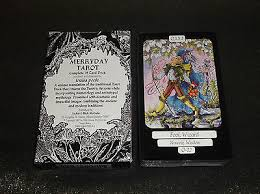 the beautiful merryday tarot cards deck by louisa poole out of