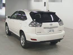 toyota harrier 2012 used toyota harrier 2005 white coming in auto auction japan at uss