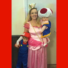 Mario Princess Peach Halloween Costume 25 Toad Costume Ideas