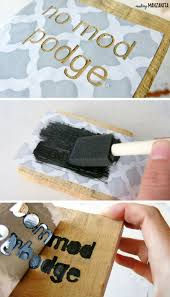 how to prevent stencil bleeding sign making hack making manzanita