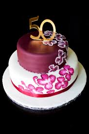 unique elegant birthday cakes custom cake elegant design 50th