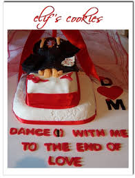 bachelorette party cake