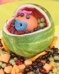 watermelon baby carriage centerpiece tutorial pura vida moms