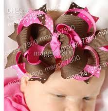 how to make baby hair bows baby hair bow ribbon hairbows hairband hair band band
