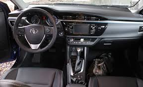 2014 Toyota Yaris Interior Review 2014 Toyota Corolla S Subcompact Culture The Small Car