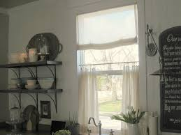 Curtains For Kitchen by Cafe Curtains For Kitchen Home And Interior