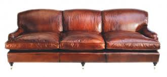 Leather Chairs Of Bath Chelsea Design Quarter Leather Howard Sofa - Leather chairs and sofas
