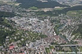 Stadt Baden Baden Baden U2013 Luftbilder Der Schweiz