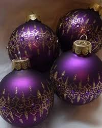 Purple Gold Christmas Decorations Best 25 Purple Christmas Ornaments Ideas On Pinterest Christmas