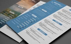 Clean Resume Template Clean Resume Template Photoshop Psd Cursive Q