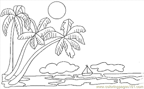 coloring pictures of a palm tree printable palm tree free printable coloring page palmtree coloring
