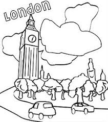 big ben coloring pages