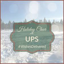spread cheer with ups wishesdelivered