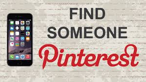 how to find someone on pinterest mobile app android iphone