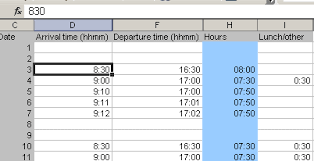 how to make a timesheet in excel justaddwater dk automatic excel time format without colon in input