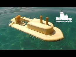 Small Wooden Boat Plans Free Online by Diy Wooden Toy Boat Youtube