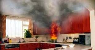 feu de cuisine hannut un appareil électrique déclenche le feu hannut