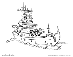 battleship coloring pages eson me
