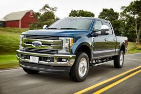 Ford Diesel Dually Trucks - ford unveils 2017 super duty trucks redesigned aluminum body
