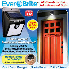 bright light solar brite motion activated solar powered led exterior house light