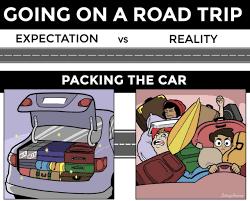 Trip Meme - road trip packing meme guy