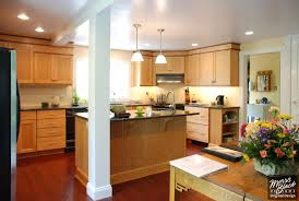 Lighting For Under Kitchen Cabinets by Furniture Exciting Kraftmaid Kitchen Cabinets With Under Cabinet