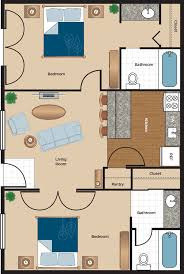 Floor Plan 2 Bedroom Apartment Floor Plans U0026 Availability U2013 Two Bedroom Apartments The Flats At