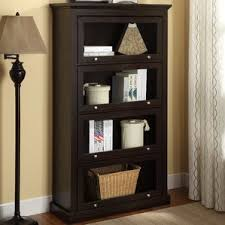 Bookshelves With Glass Doors For Sale by Bookcases With Doors You U0027ll Love Wayfair