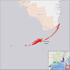 Map Florida Keys by Florida Keys U S Fish U0026 Wildlife Service