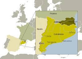 map of perpignan region catalonia the catalan language 10 facts maps brilliant maps