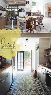 Kitchen Floor Tile Designs Images Living The Trend Unique Kitchen Tile Design Dine X Design
