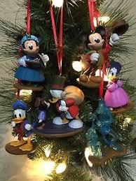 disney christmas ornament 6pc set mickey mouse a christmas carol u0027s