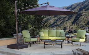 Coolaroo Umbrella Review by Furniture Hanging Patio Umbrella Replacement Canopy Redhanging