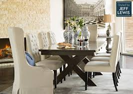 Living Spaces Dining Room Sets | dining room living spaces laidback luxury styled by jeff lewis