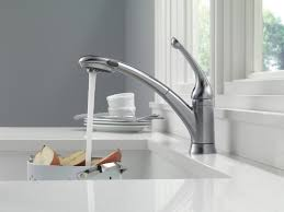 Delta Hands Free Kitchen Faucet by Signature Kitchen Collection