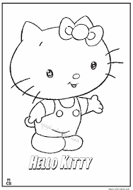 kitty coloring pages 08