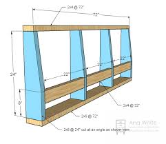 Free Building Plans For Outdoor Furniture by Ana White Build A Storage Sofa Free And Easy Diy Project And