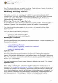 vzt1 marketing applications vzt1 marketing applications course
