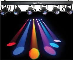 dj lighting truss package chauvet dj lighting 2 6spot dance floor led color light bar with