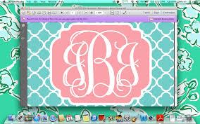 create monogram initials monogram wallpaper maker create your own chevron initials vjaktmzh