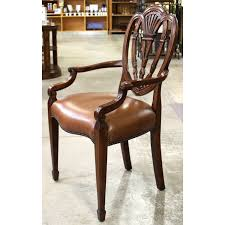 Theodore Alexander Buffet by Theodore Alexander Mahogany U0026 Leather Accent Chair Upscale