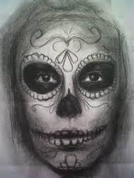 day of the dead sketches bing images coloring pages for adults
