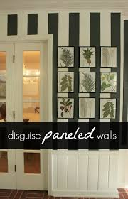 Painting Wood Paneling Ideas Painted Paneled Walls With Chair Rail Decor Ideas Pinterest