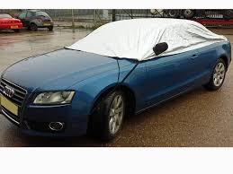 audi convertible audi a5 coupe u0026 convertible 2007 onwards half size car cover