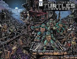 teenage mutant ninja turtles universe 1 u2013 idw publishing