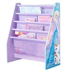 Sling Bookcase White by Disney Frozen Kids Sling Bookcase Bedroom Storage By Hellohome