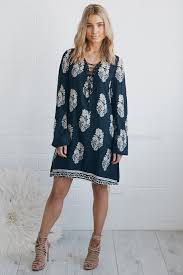 online women s boutique bonnie dress navy esther clothing australia and america usa