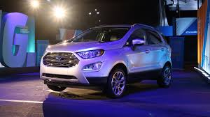 most expensive 2018 ford ecosport costs 30 555